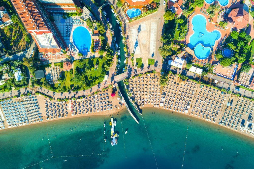 Icmeler i Turkiet ovanifrån
