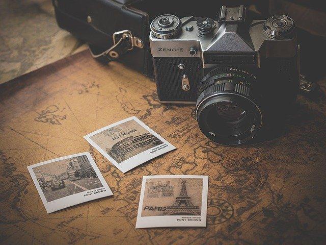 Kamera och flera foton